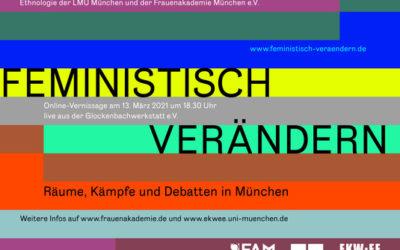 Online Ausstellung – Feministisch verändern